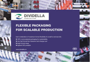 Dividella's highly modular cartoning systems provide adaptable and flexible feed and handling options to enable fast time to market