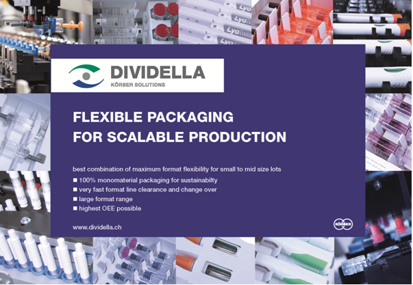 Dividella embraces sustainability with flexible design and 100% monomaterial capabilities