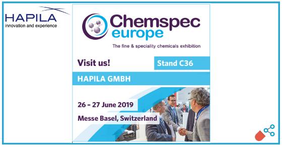 HAPILA showing advanced drug CDMO services at Chemspec