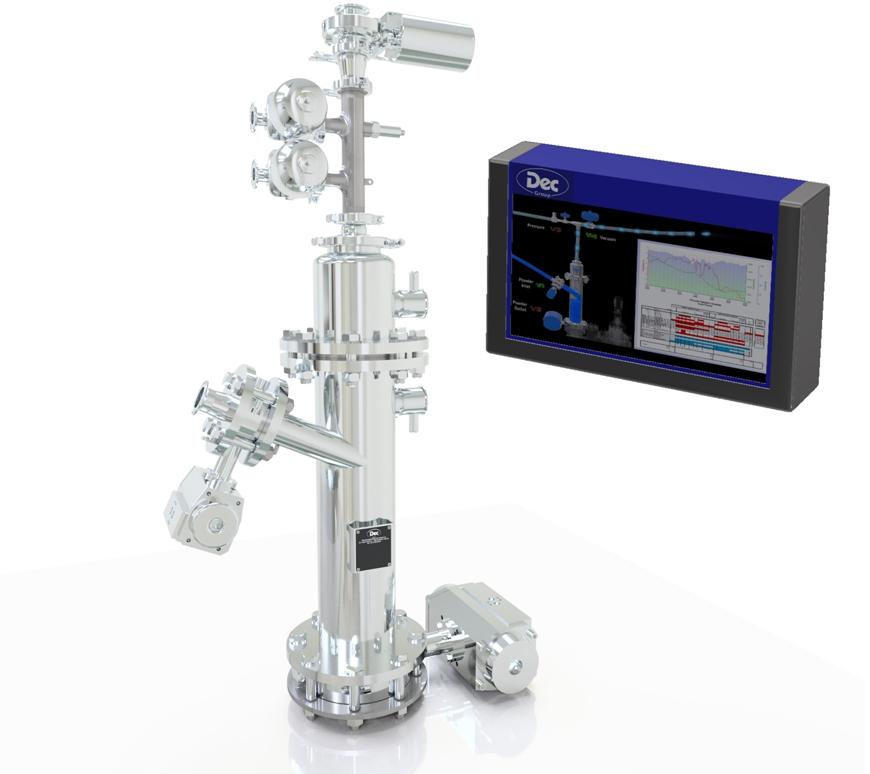Dec offers SIP high sterility version of PTS Powder  Transfer System®