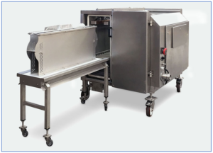 Bernhardt Vacuum Chamber packaging and sealing system
