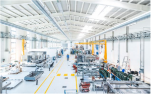 Bonfiglioli Engineering's purpose-adapted factory features bright, spacious and well-organized production zones