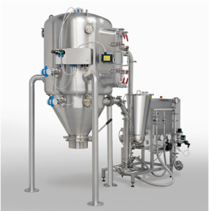 Dec MC DecJet® 200: moving to full jet milling production at 500g to 50 kg per hour
