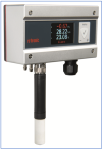 PF5 differential pressure instrument with HC2 Hygroclip probe