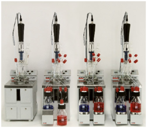 SYSTAG FlexyCUBE allows up to six steel or glass reactors to be independently controlled from a single PC
