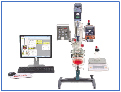 45755SYSTAG Jacketed Lab Reactor Solutions