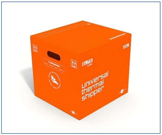 Sofrigam Elite Cubic Parcel Shippers