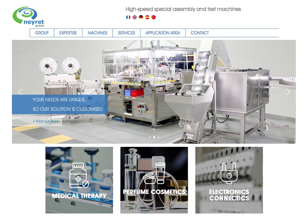 Neyret Group goes live with new website