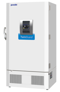 TwinGuard ULT Freezers dual cooling system protection with VIP PLUS energy efficiency, flexible shelf layout and intelligent security and control interfaces