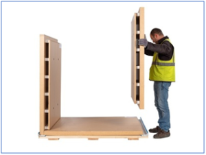 The new generation of Sofrigam pallet shippers are designed for exceptionally easy assembly and disassembly