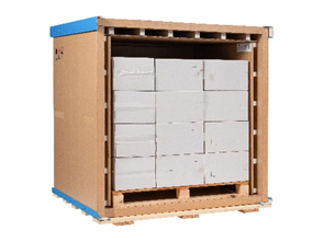 Sofrigam Pallet Shipper features one of the most favourable weight/load ratios on the market