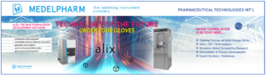 Alix software platform is the centerpiece of the Medelpharm lightwall display at AAPS PharmSci 2019