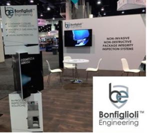 Bonfiglioli Engineering PACKEXPO Las Vegas stand featured new website