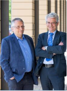 Dr. Steffen Wittmann, Head of Development at HAPILA GmbH and CEO Dr. Uwe Müller