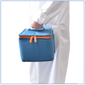 Initial Cooling bag is easy to use and features a lockable zip fastening