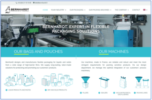 New Bernhardt website features uncluttered contemporary design