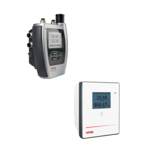 Rotronic HL-NT data logger and RMS display