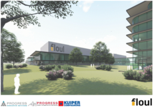 The new Floul Pharmaceuticals facility
