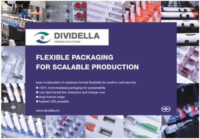 Dividella cartoning machines for prefilled syringe