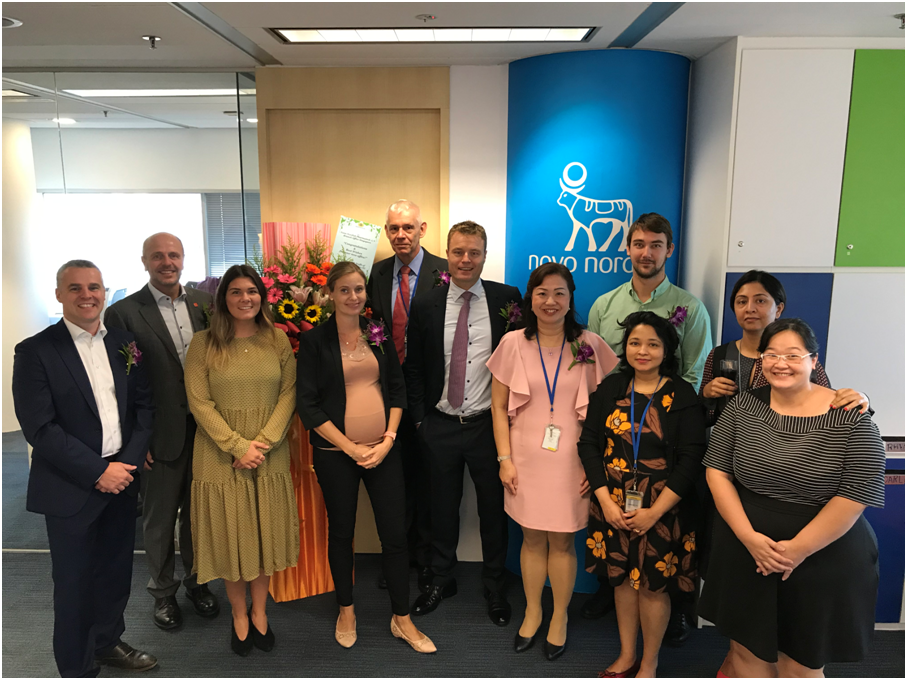 Novo Nordisk Pharmatech opens new branch in Singapore