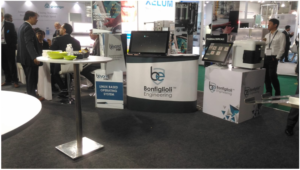 Bonfiglioli Engineering stand at P-Mec India featured hands on demonstrations of new HMI user interface