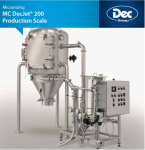 MC DecJet® 200: Prodution scale