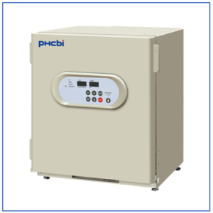 Compact and stackable: MCO-5AC-PE IncuSafe CO2 Incubator