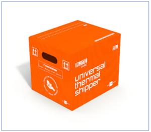 Elite Cubic parcel shipper: a 168-hour duration reusable shipping solution