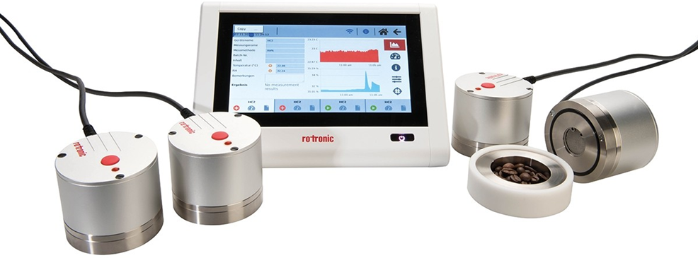 Rotronic reliable measurement of water activity