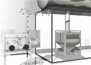 MPTS Sampling Device for inline and sterile sampling