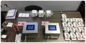 Rotronic and third-party products ready for installation and integration into the RMS continuous monitoring system at Canopy Growth.