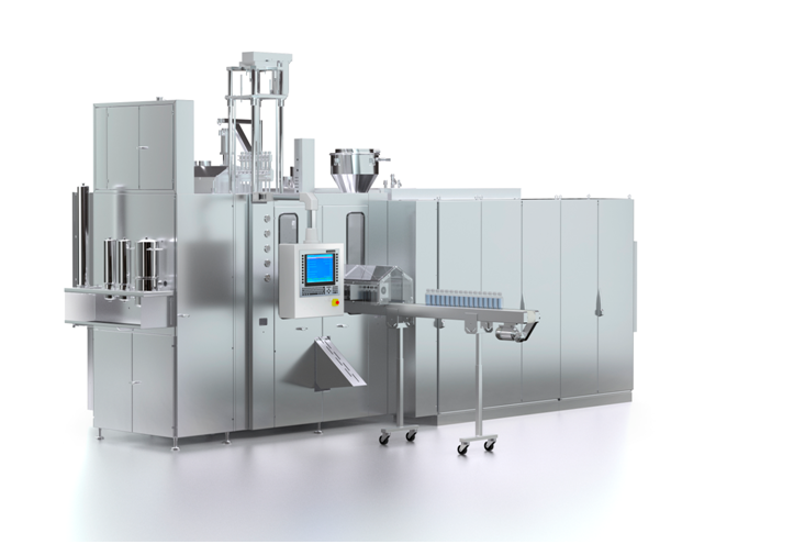 Rommelag Engineering bottelpack liquid filling machines