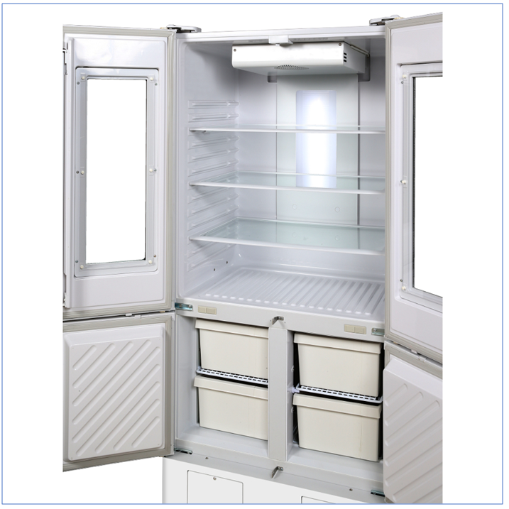 PHCbi MPR-N450FHD-PE Pharmaceutical Refrigerator with Freezer