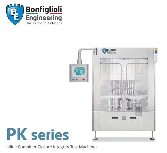 Inline Container Closure Integrity Test Machines – PK series