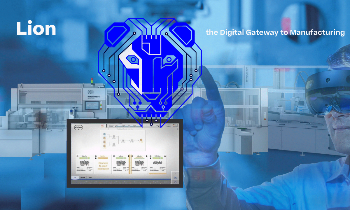 Körber Pharma & Affiliates join to develop LION gateway to advanced manufacturing