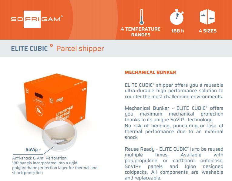 ELITE CUBIC Parcel Shipper