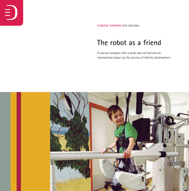 Startup Support for Hocoma – The robot as a friend