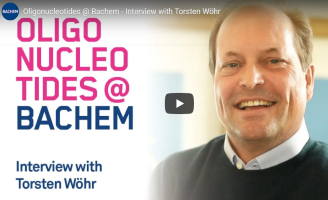 Oligonucleotides @ Bachem – Interview with Torsten Wöhr