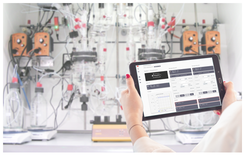 SYSTAG RemoteX mobile application process control