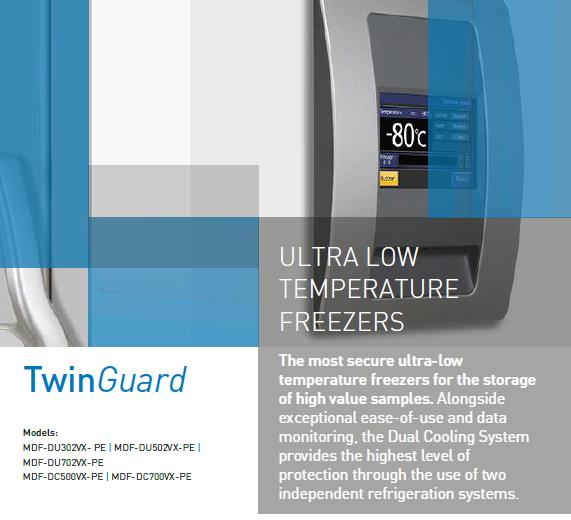 Ultra Low Temperature Freezers – TwinGuard