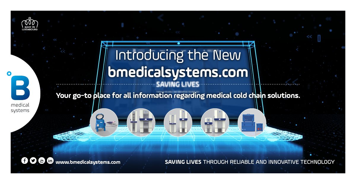 B Medical Systems' new website provides faster access to life-saving technologies