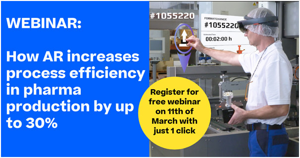 Körber webinar on using Augmented Reality (AR) guided workflows to unlock huge efficiency gains