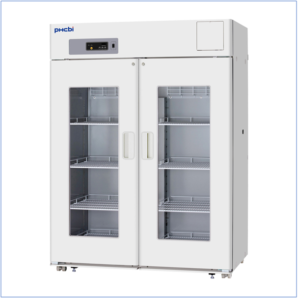 Large Capacity Pharmaceutical Refrigerator: PHCbi MPR-1412 Series
