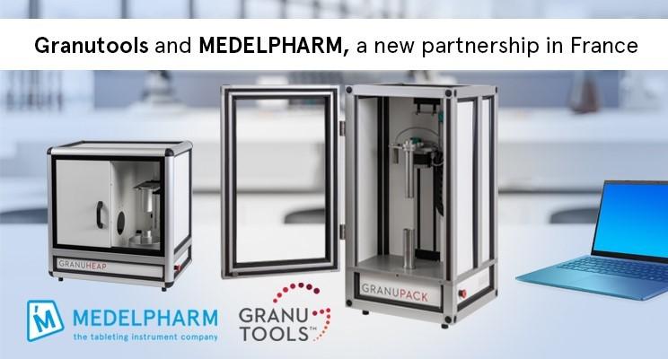 Medelpharm Science Lab installs specialist GranuTools powder characterization instruments