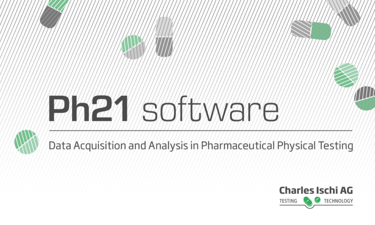 Charles Ischi 'Ph21Tool' for big data evaluation and analysis