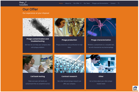 Phage Consultants re-engineers online presence with new website
