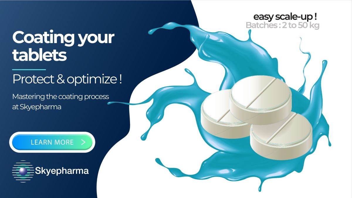 Skyepharma invests in new tablet coating technology