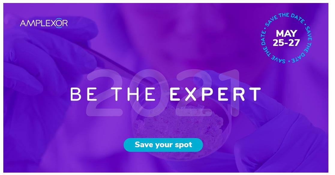Amplexor reveals full agenda for Be The Expert 2021 conference