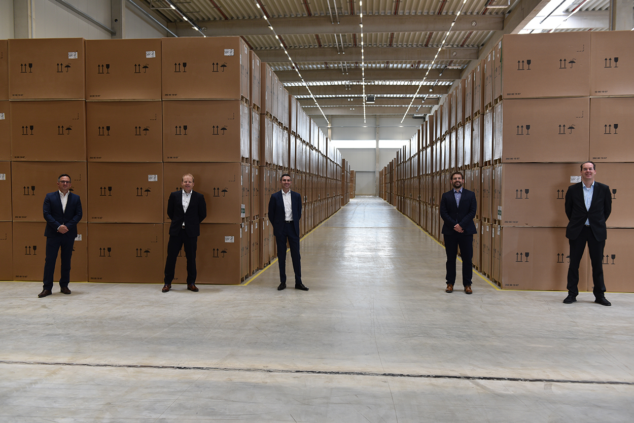 B Medical Systems announces the opening of a new distribution centre in partnership with Kuehne+Nagel BeLux