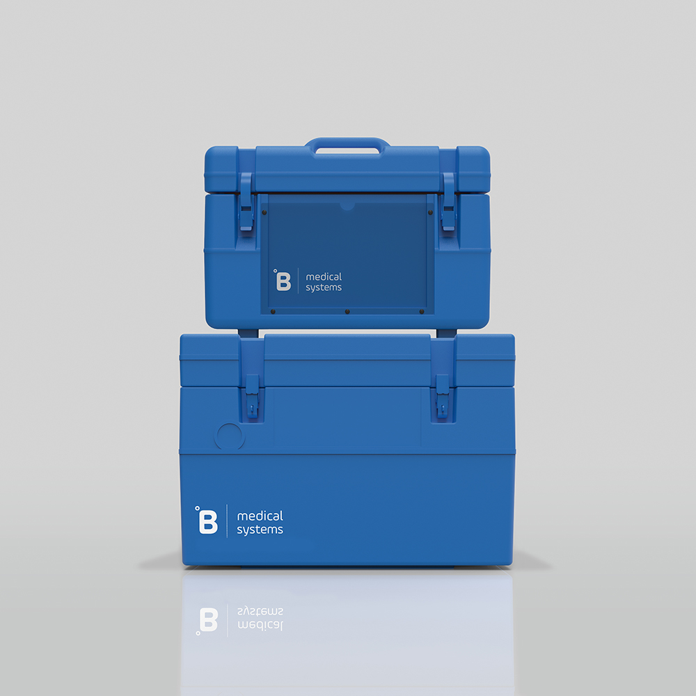 B Medical Systems' Transport Boxes for the safe transport of vaccines, medicines, blood and samples